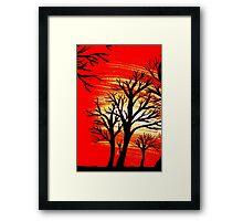 Extream sunrise Framed Print