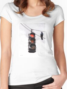 Code Red Women's Fitted Scoop T-Shirt