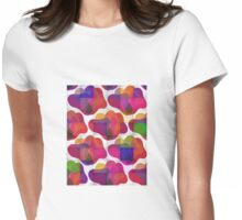 Gummy Bear Pop Art Womens Fitted T-Shirt