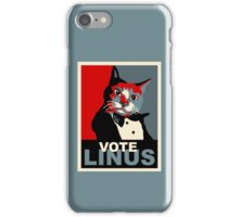 Vote for Linus iPhone Case/Skin