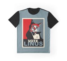 Vote for Linus Graphic T-Shirt