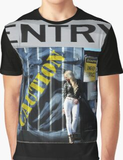 Laree Parker Graffiti Graphic T-Shirt