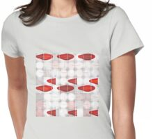 Red Light Glasses Womens Fitted T-Shirt