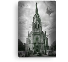 The Church of the Holiest Heart of Christ Canvas Print