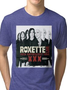 Roxette 30th Anniversary Tour Tri-blend T-Shirt