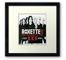 Roxette 30th Anniversary Tour Framed Print
