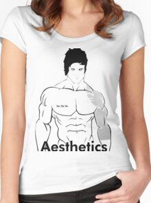 Zyzz Aesthetics Women's Fitted Scoop T-Shirt