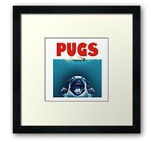 pugs Framed Print