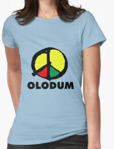 Olodum Brazilian Culture Logo Womens Fitted T-Shirt