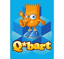 Q-bart Photographic Print