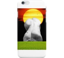 The sun shines out of behinds iPhone Case/Skin