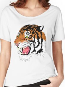 tiger \ animals  Women's Relaxed Fit T-Shirt