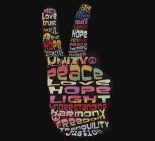 Peace tshirts by © Cassidy (Karin) Taylor