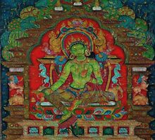 Green Tara by LuciaS