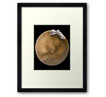 Lost in a Space Framed Print
