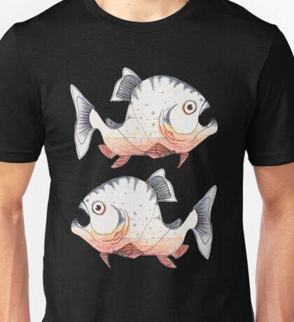 The Startled Piranha Unisex T-Shirt