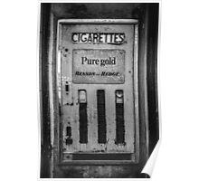 Cigarette Machine  Poster