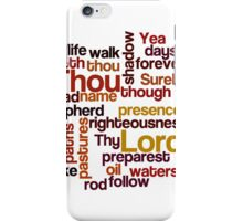 Shadow of the valley of death iPhone Case/Skin