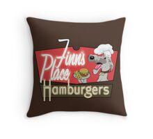 Finn's Place Throw Pillow