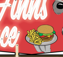 Finn's Place Sticker