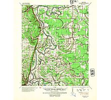 USGS TOPO Map Arkansas AR Whitmore 260371 1940 62500 Photographic Print