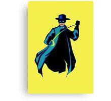 Zorro Pop Art Canvas Print