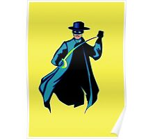 Zorro Pop Art Poster