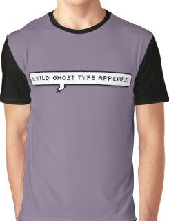 Ghost Type Graphic T-Shirt