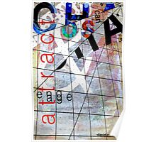 David Carson Chaos Typography Poster