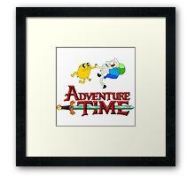 Adventure time high Framed Print