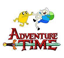 Adventure time high Photographic Print