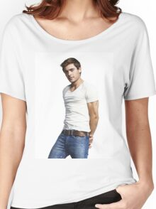 HANDSOME ZAC EFRON TEL01 Women's Relaxed Fit T-Shirt