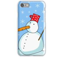 Snowman 2 iPhone Case/Skin