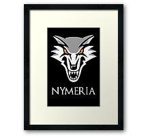 Direwolf Nymeria Framed Print