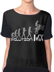 Funny Evolution De Motocross Chiffon Top