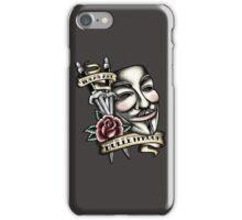 Old School Vendetta iPhone Case/Skin
