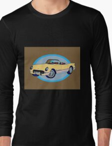 Pin Up Vette Long Sleeve T-Shirt