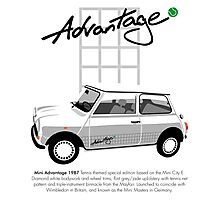 Classic 1987 Mini Advantage Photographic Print
