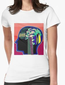 Tire Truck Mind Womens Fitted T-Shirt