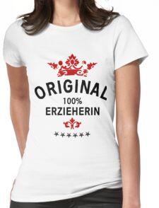100% Erzieherin Womens Fitted T-Shirt