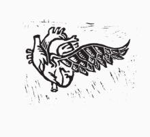 As the heart flies - keyblock One Piece - Short Sleeve