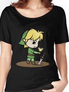 Link Legend of Zelda Women's Relaxed Fit T-Shirt