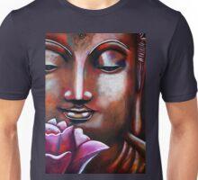 Buddha with Lotus Unisex T-Shirt