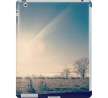Morning glory in the valley iPad Case/Skin
