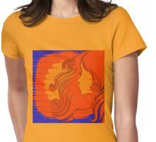 Sun Kissed Girl Womens Fitted T-Shirt