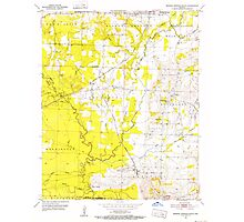 USGS TOPO Map Arkansas AR Mineral Springs South 259108 1951 24000 Photographic Print