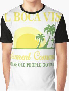 DEL BOCA VISTA - RETIREMENT COMMUNITY Graphic T-Shirt