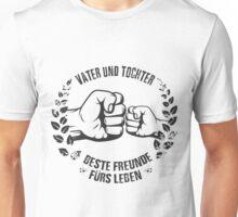 Vater und Tochter Unisex T-Shirt