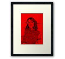 Tina Fey - Celebrity Framed Print
