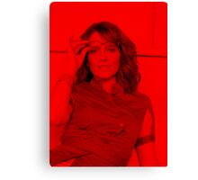 Tina Fey - Celebrity Canvas Print